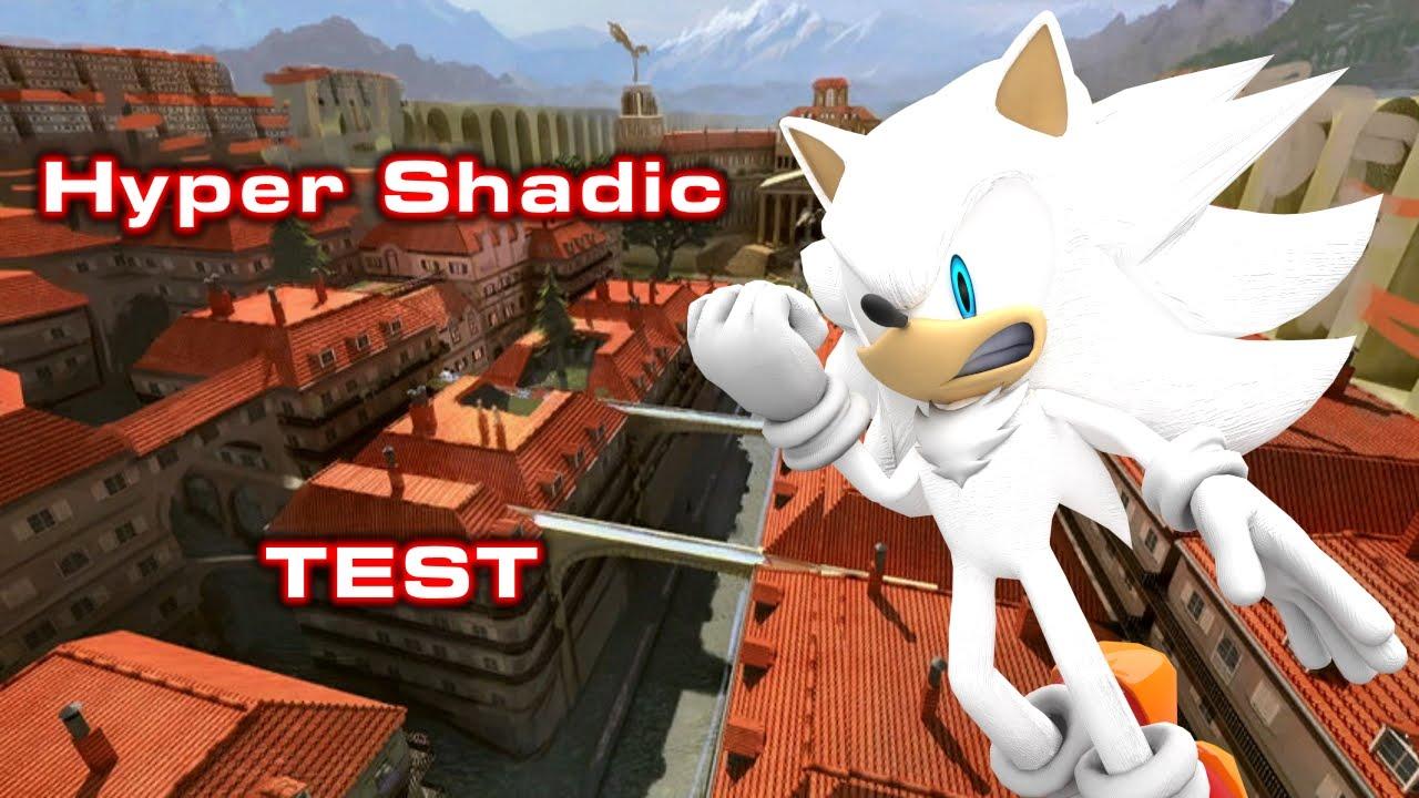 Sonic Generations - Hyper Shadic Test - YouTube