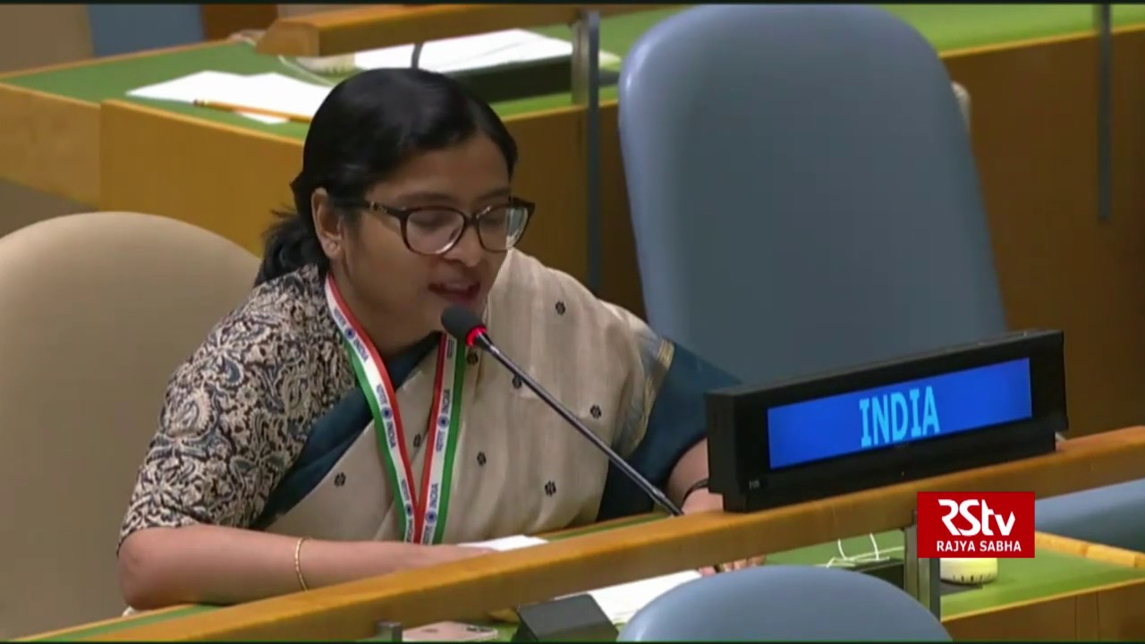 India's reply to Pakistan PM Imran Khan's speech at the UNGA