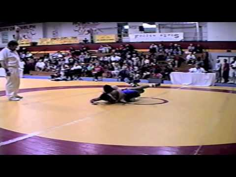 2002 Senior National Championships: 55 kg James Crowe vs. Jay Naicker