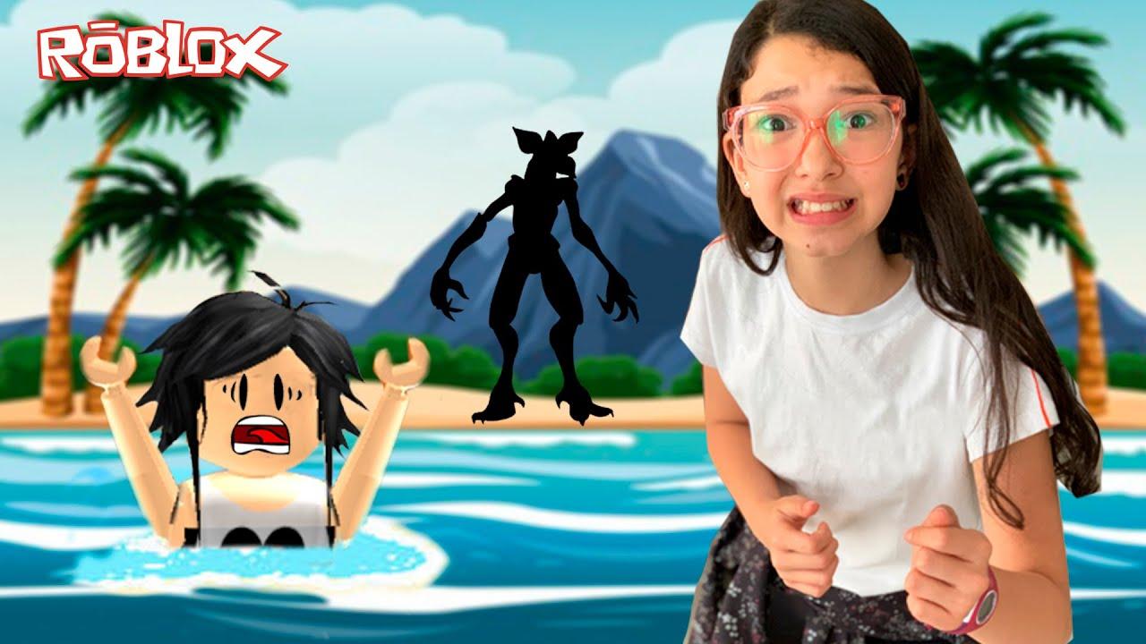 Roblox - FUGINDO DA ILHA DO IMPOSTOR (Murder Island Halloween) | Luluca Games