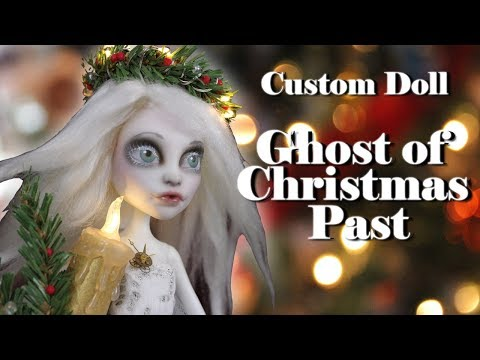Custom Doll Repaint!  A Christmas Carol Ghost of Christmas Past MH/EAH OOAK Secret Santa Collab