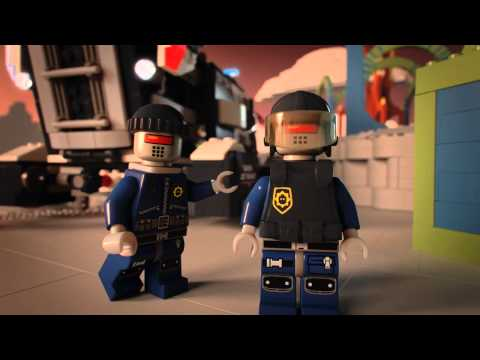 Super Secret Police Dropship - The LEGO Movie - 70815 - Product Animation