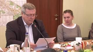 Василий Голубев посетил новошахтинский роддом