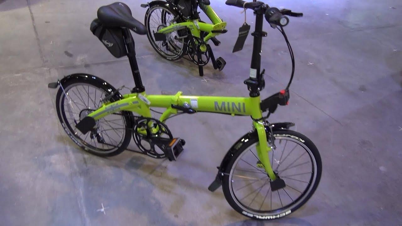 mini folding bike in 3d 4k uhd youtube. Black Bedroom Furniture Sets. Home Design Ideas