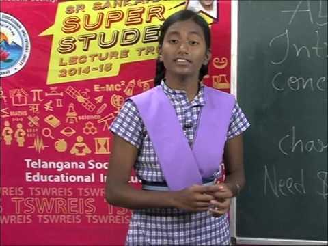 Tswreis Super students-2014-15- Advertising - by S.Sherya