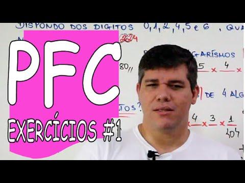 PFC: EXERCÍCIOS #1
