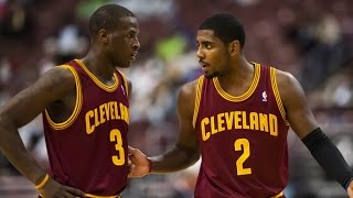 Kyrie Irving and Dion Waiters Full Highlights vs Knicks (2014.10.30)