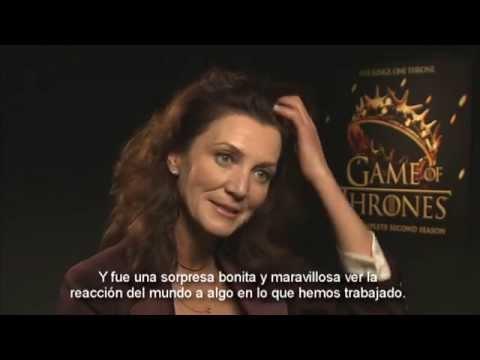 """Michelle Fairley: """"El objetivo de Catelyn  es mantener a su familia lejos de los Lannister"""""""