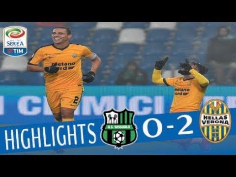 Sassuolo - Hellas Verona 0-2 - Highlights - Giornata 14 - Serie A TIM 2017/18