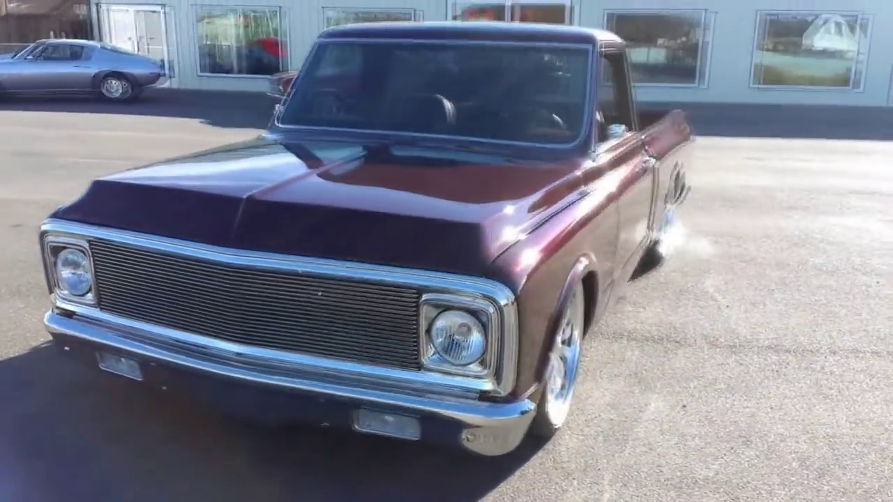 Chevrolet Gmc C10 Airsuspension T 1968 Chevy Lifted