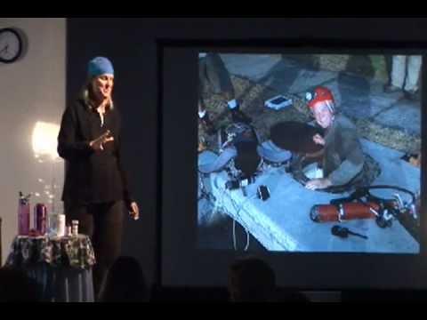 Underwater Explorer Jill Heinerth Motivational Speaking
