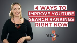 Get your videos ranking higher on YouTube searches today! // Vlog Pod // Video Blogging Made Easy