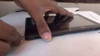 How to open an android tablet