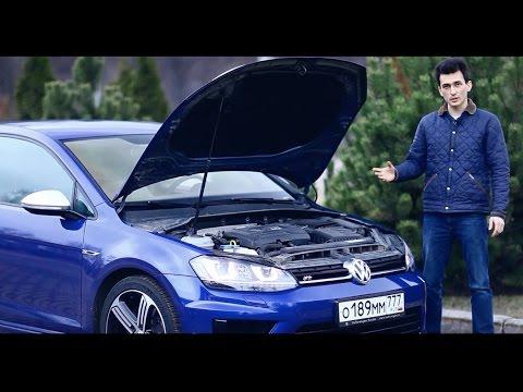 Тест-драйв 300-сильного VW GOLF R: общий обзор + мощностной стенд и 0-200 км/ч