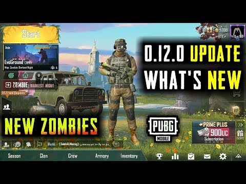 PUBG MOBILE 0.12.0 GLOBAL UPDATE IS HERE WHAT'S NEW | NEW ZOMBIES Mp3