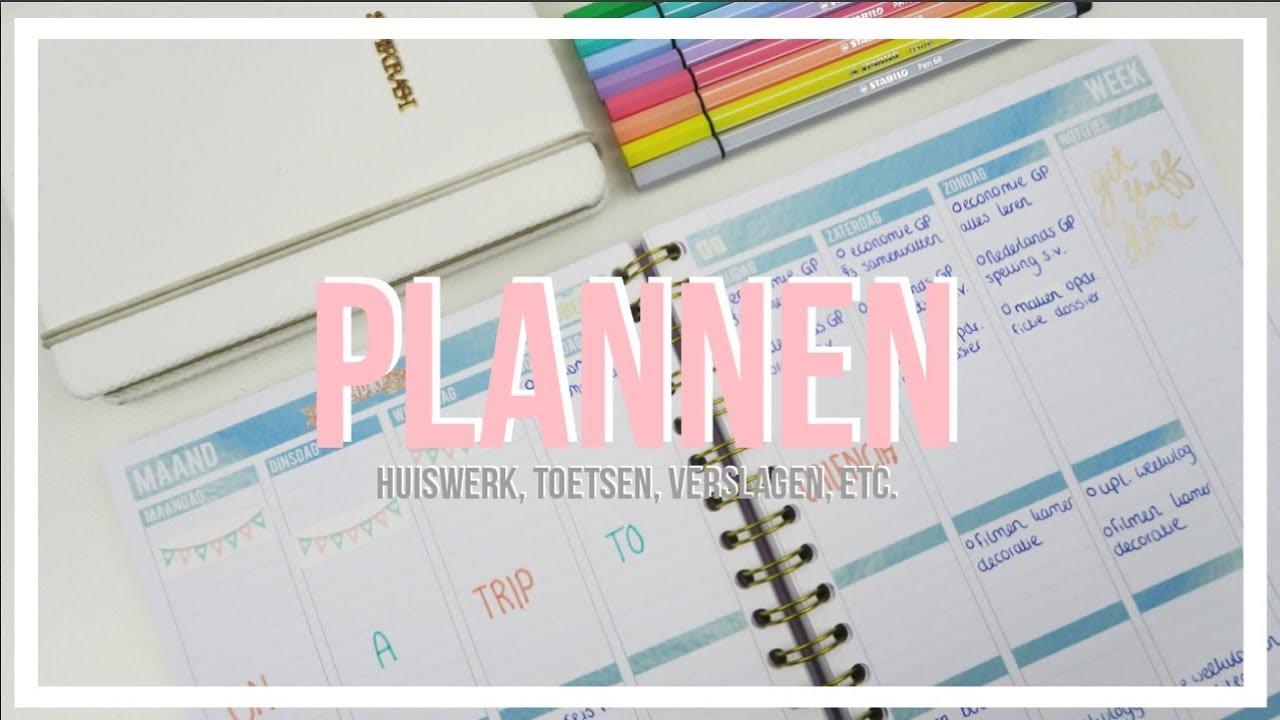 How to planning maken bo youtube for Planning maken