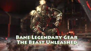 Injustice 2 - Bane Legendary Gear - The Beast Unleashed (1045 Damage Combo)