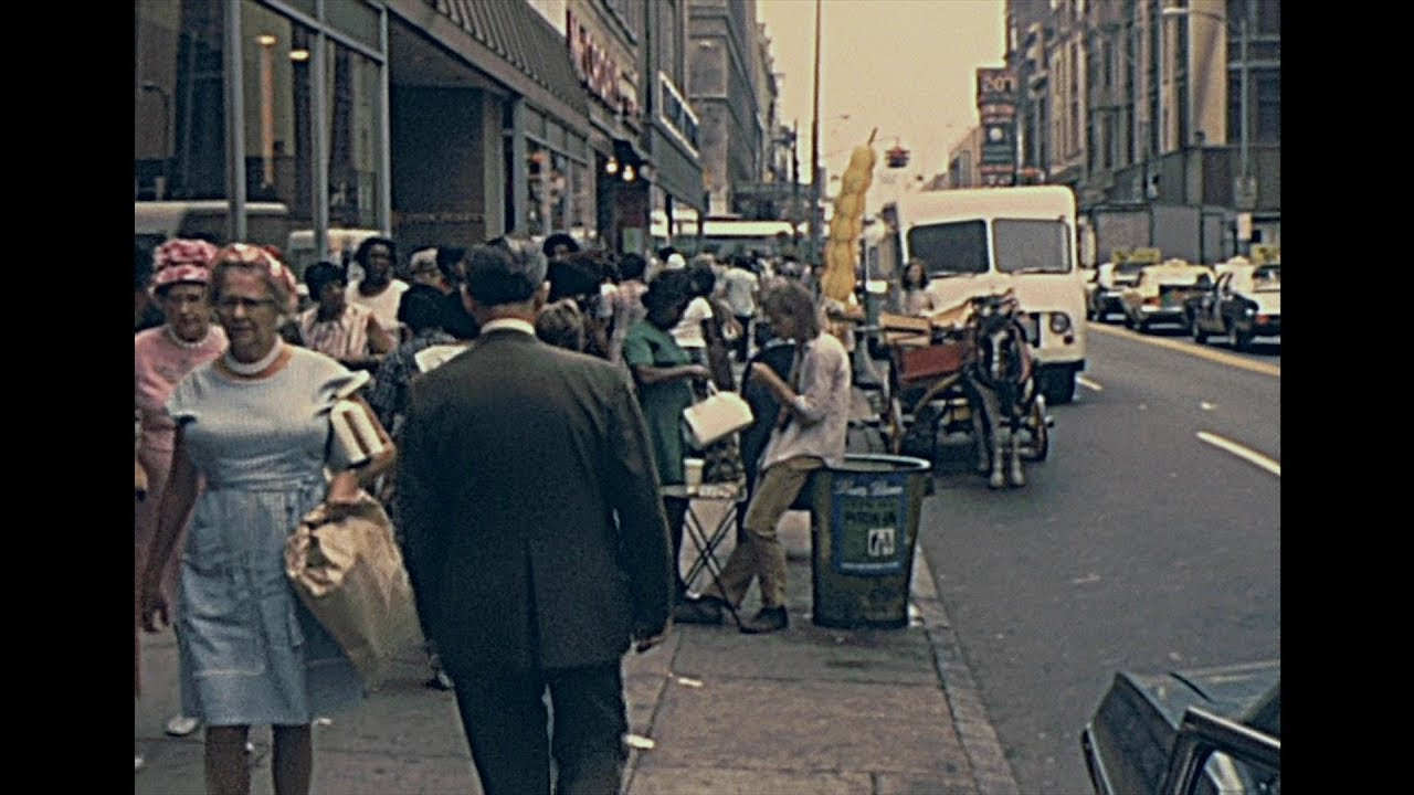 Vintage Baltimore, Maryland (Archival footage)