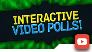 [TUTORIAL] How to Make/Create IN-VIDEO POLLS on YouTube with the NEW YouTube Interactive Poll Cards(I forgot to mention something in the tutorial! If you go back to the card edit page after people have voted, you can view the poll results and how many people ..., 2016-02-16T20:00:56.000Z)