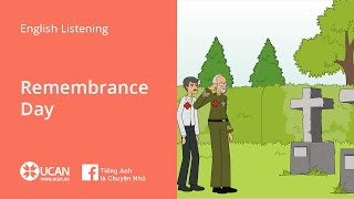 Learn English Via Listening   Beginner: Lesson 14. Remembrance Day