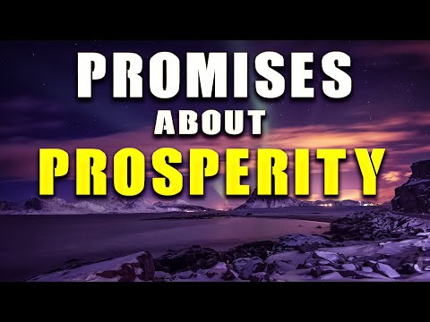 PROMISES ABOUT PROSPERITY-PRAYING FOR OUR BLESSING - PRAYING IN TONGUES - PRAYING IN THE SPIRIT