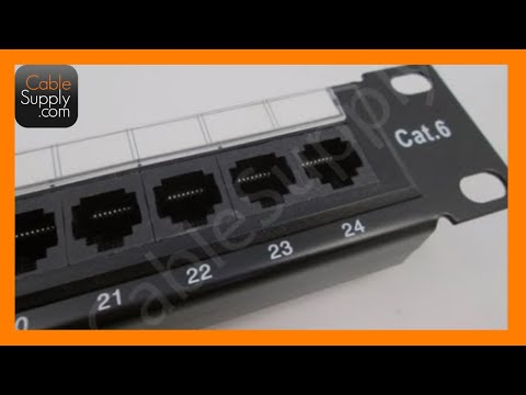 Structured Wire Panel | Patch Panels Youtube