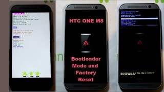 HTC ONE M8 Bootloader Mode and Factory Reset
