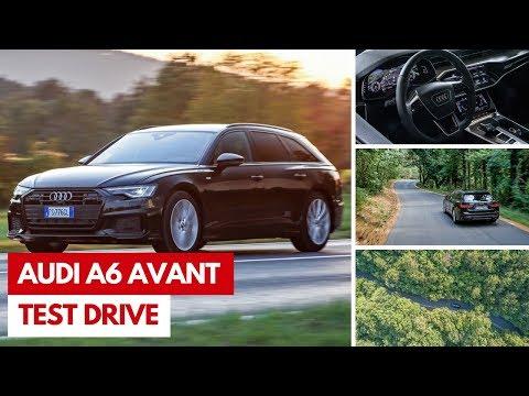 Audi A6 Avant 2019   Test drive della nuova ampia wagon degli Anelli
