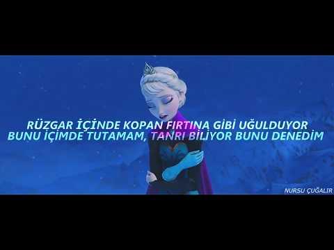 Idina Menzel - Let It Go (Türkçe Çeviri) Frozen