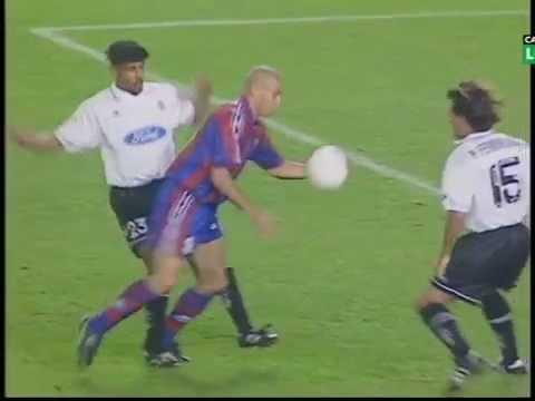 Season 1996/1997. FC Barcelona - Valencia CF - 3:2