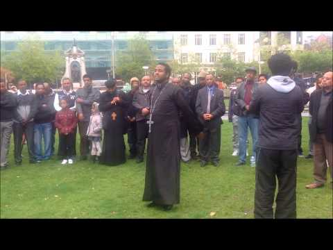 Memorial Service for those who died in the tragic Lampedusa sea - Eritrean Community in Manchester