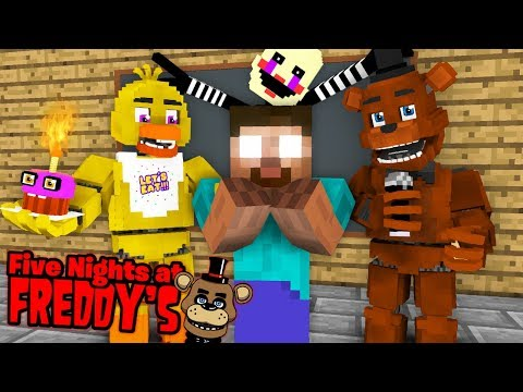 Monster School : Five Nights At Freddy's - FNAF VS MOBS CHALLENGE - Minecraft Animation thumbnail