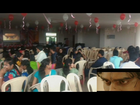 Baahubali 2 The Conclusion Official Trailer Mania In College Seminar Hall | Vizag |