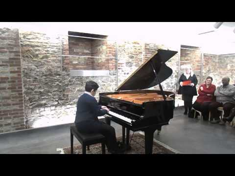 Ed Grieg - Hommage  a Chopin - op. 73, n.5 -Junior piano contest 2017 - Συναυλία -1o βραβ.