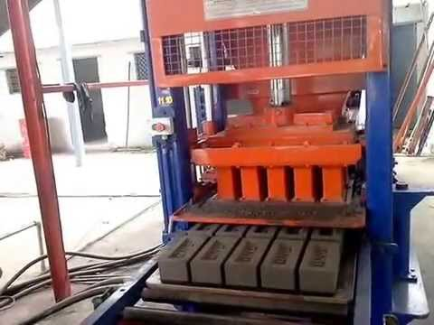 fly ash Brick making fully automatic machine in India 9825225343