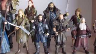 Lord of the Rings action figures . Hobbit action figures.