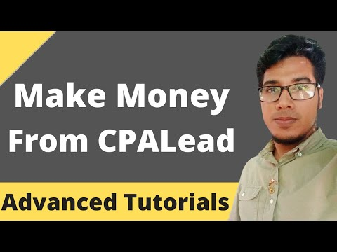 Easy Way To Make Money from CPALead.Com