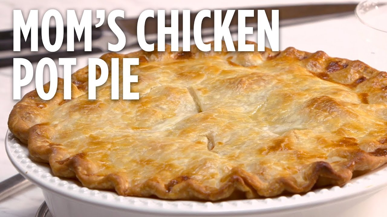 How To Make Mom S Chicken Pot Pie Dinner Recipes Allrecipes Com Youtube