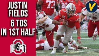 Justin Fields Has A Game With 6 TD In The First Half