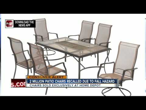 Casual Living Worldwide Recalls Swivel Patio Chairs Due To Fall Hazard