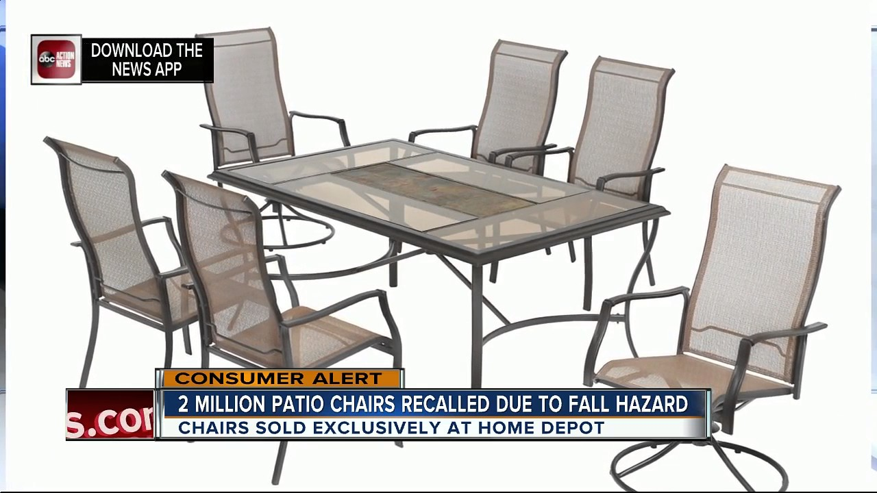 Captivating Casual Living Worldwide Recalls Swivel Patio Chairs Due To Fall Hazard