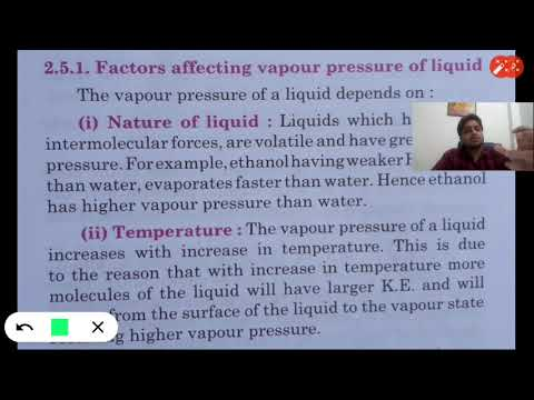 chemistry class 12 Raoult's law its application - YouTube