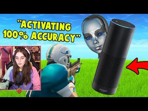 My Amazon Alexa Helps Me Win Fortnite!
