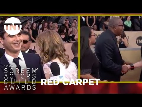Max Minghella: Red Carpet   24th Annual SAG Awards  TNT