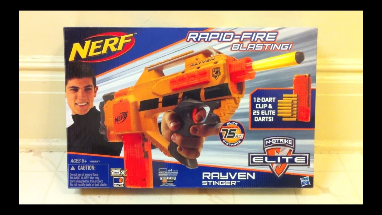 new nerf rayven stinger
