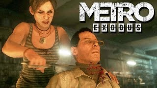 Metro Exodus Gameplay German #14 - Kannibalen wollen Anna essen