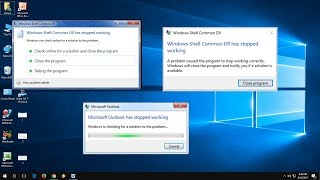 How to Fix All Windows Shell Common DLL has Stopped Working in Windows PC
