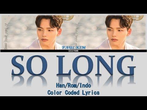 Paul Kim – So Long (안녕) (OST. Hotel del Luna Part 10) Lyrics Sub Indo
