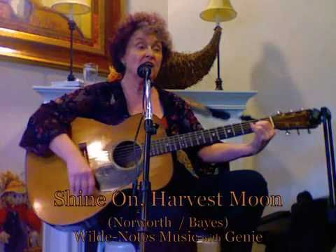 Shine On, Harvest Moon - sing-along - lyrics, verses, chords - Genie at Aegis Lynnwood