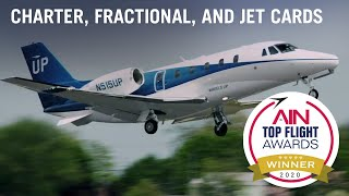 2020 Top Flight Awards Charter, Fractional, and Jet Cards Category Winner: Wheels Up – AIN